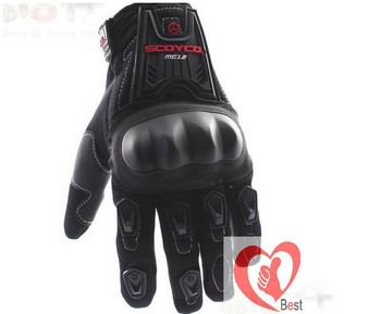 Free shipping Crazy Sales Authentic pro-biker full finger gloves Motorcycle Gloves Breathable drop resistance protection