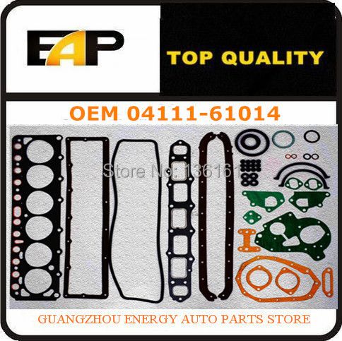 Automotive engine overhaul GASKET ENGINE FOR FIT Landcruiser FJ40 FJ45 FJ6 2F 04111 61014 1976 1990