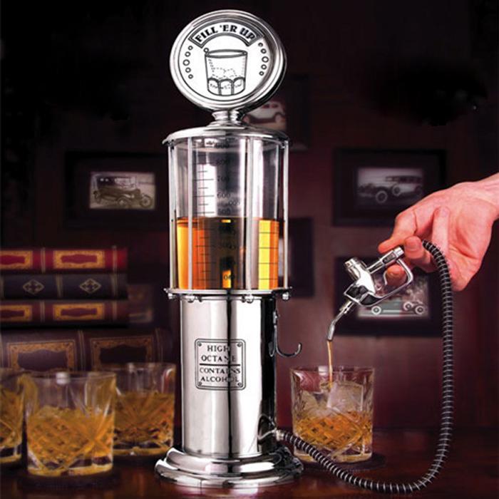 1000ml New Single Gun Beer Dispenser Silver Liquor Pump Gas Station Alcohol Liquid Water Juice Wine Soda Soft Drink Dispenser(China (Mainland))