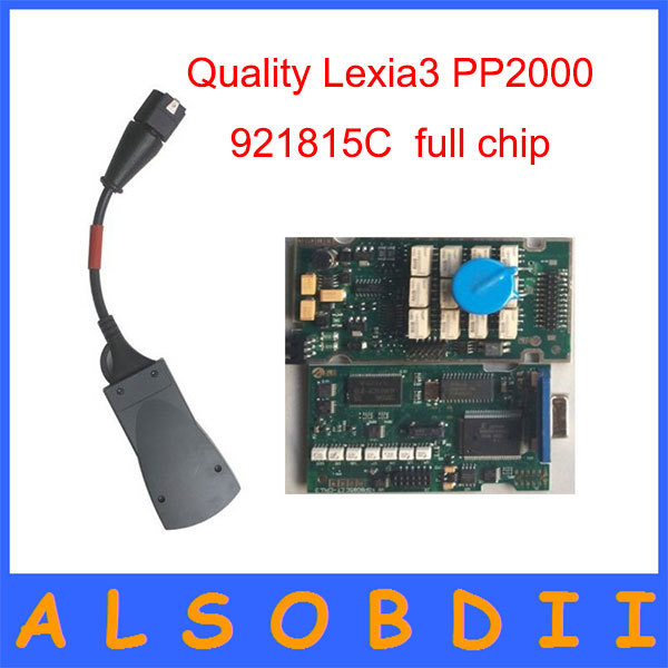 Newest High Quality Lexia3 leixa-3 Citroen Peugeot Diagnostic 921815C Lexia3 PP2000 Full function Lexia free shipping(China (Mainland))