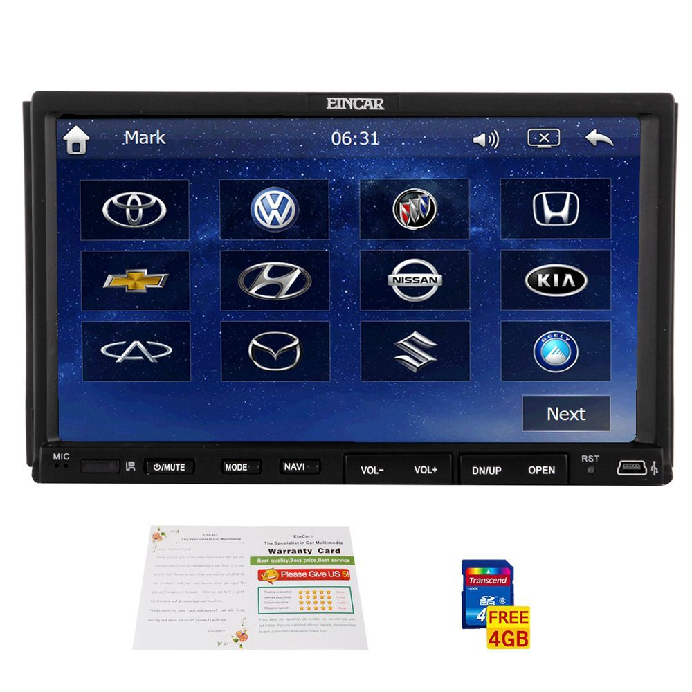 double 2 din in dash gps car stereo dvd player radio. Black Bedroom Furniture Sets. Home Design Ideas