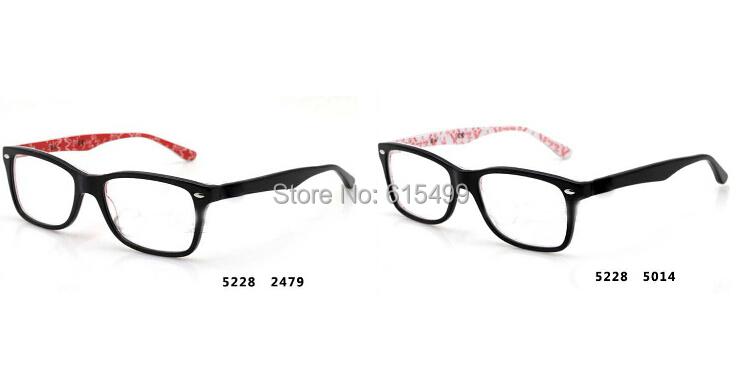 Vintage Frames Glasses Brand Optical Frames for Mens and Womens Black 5228 Prescription Eyewear 2014 Retro