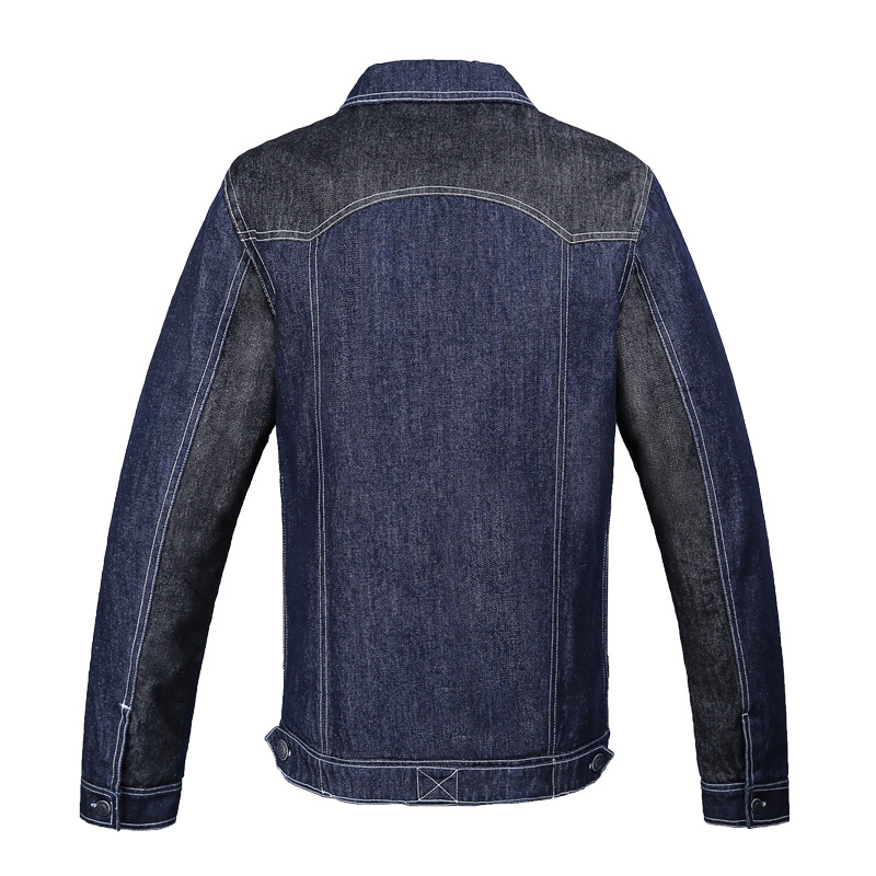 Viishow winter fitness men clothes slim denim jacket men outdoor sport baseball jacket and coats for