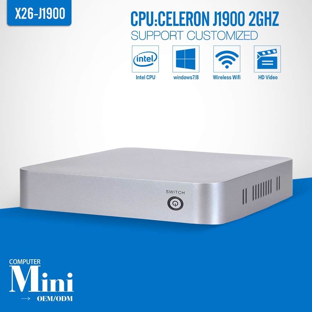 A big promotion!! XCY embedded computer Intel J1900 1*RTL8111E LAN thin client with hdmi, factory of keyboard wired(China (Mainland))
