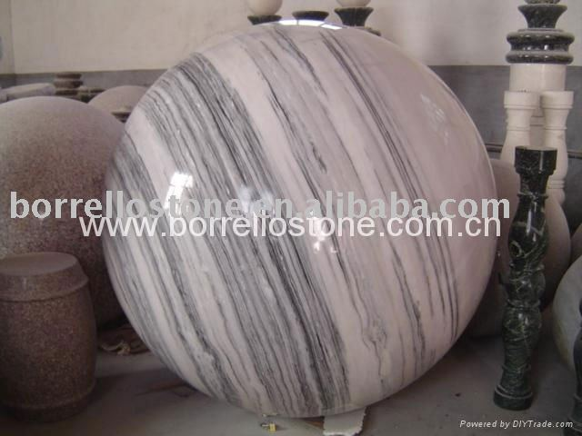 Pink Marble Stone Ball