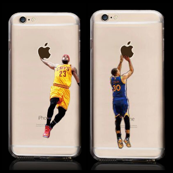 New Kobe Bryant Stephen Curry Basketball Stars Case for iPhone 6 Michael Jordan LeBron James Hard Plastic Cover for iPhone 6(China (Mainland))