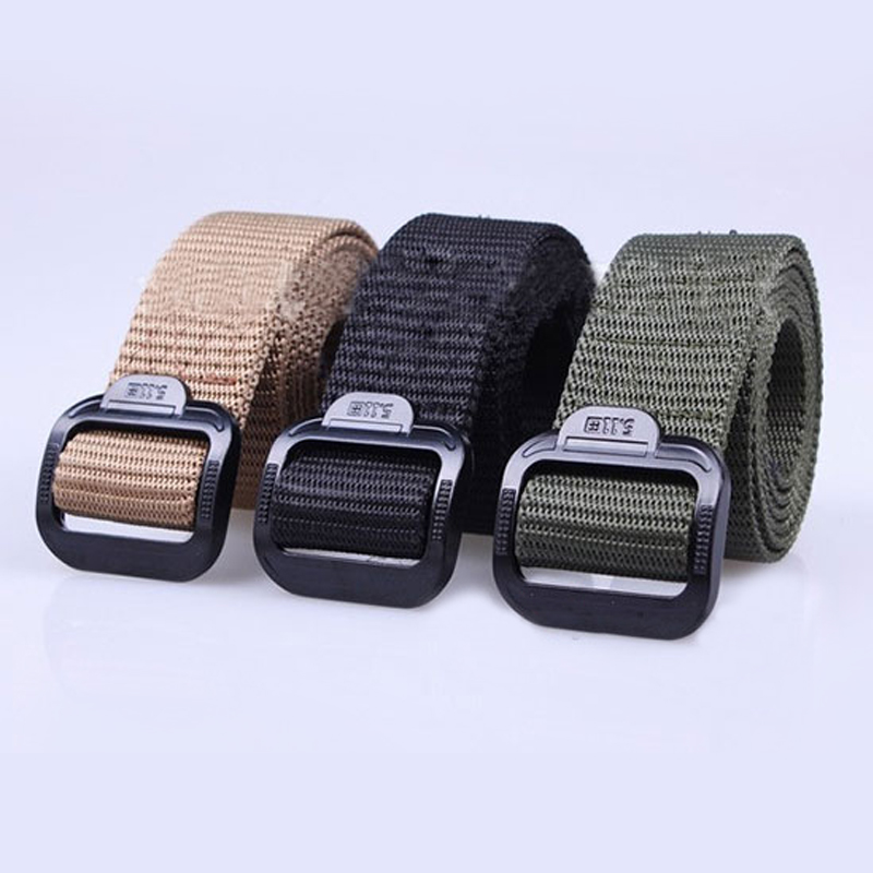 Unique Hot Sale Unisex Military Belt Tactical Rappelling Belt Waistband Three Color Choices(China (Mainland))