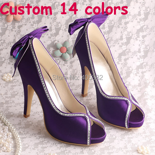 2013 Shoes Women High New Heeled Platform Open Toe Back Bows Free Dropshipping