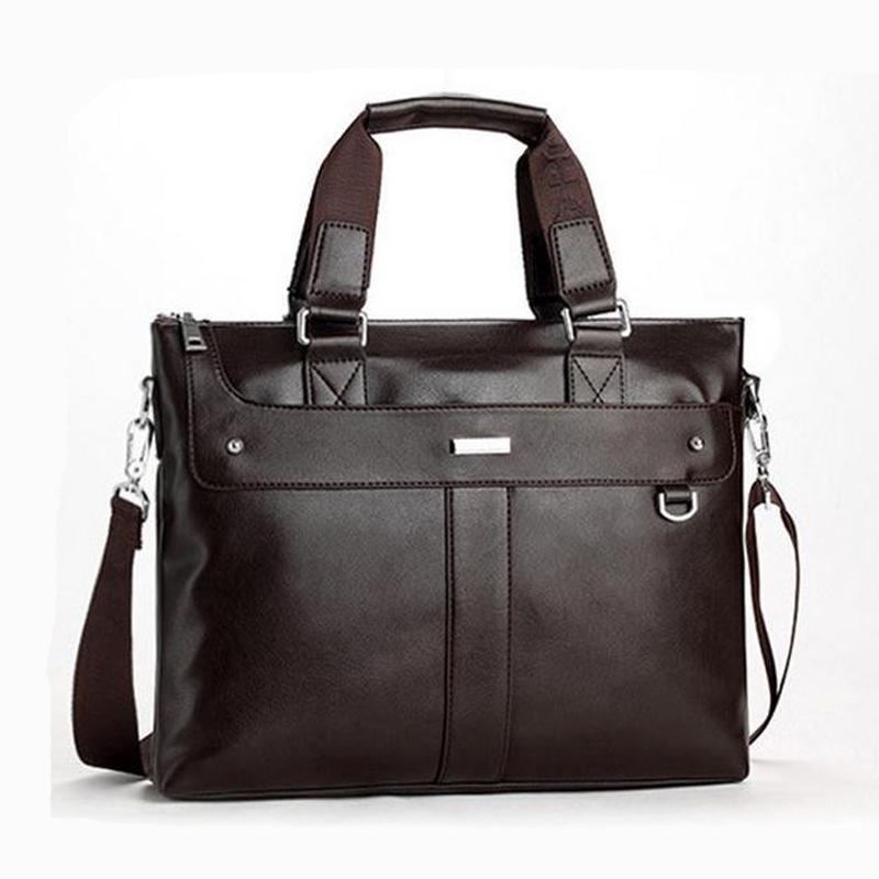 men briefcase Business leather men's bags men messenger bags men's travel bags shoulder handbag pasta executiva maletin(China (Mainland))