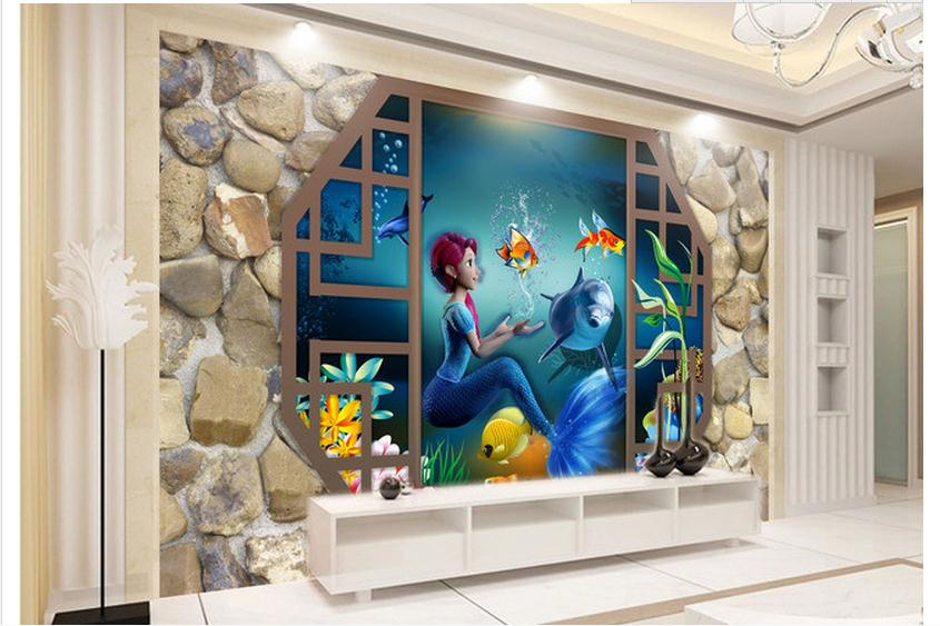 customized 3d wallpaper 3d wall murals wallpaper cartoon