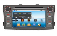 Pure Android 4.4 OS, Car DVD PC player for TOYOTA HILUX  with NXP6640 radio,1GB RAM,16GB iNand, capacitive screen