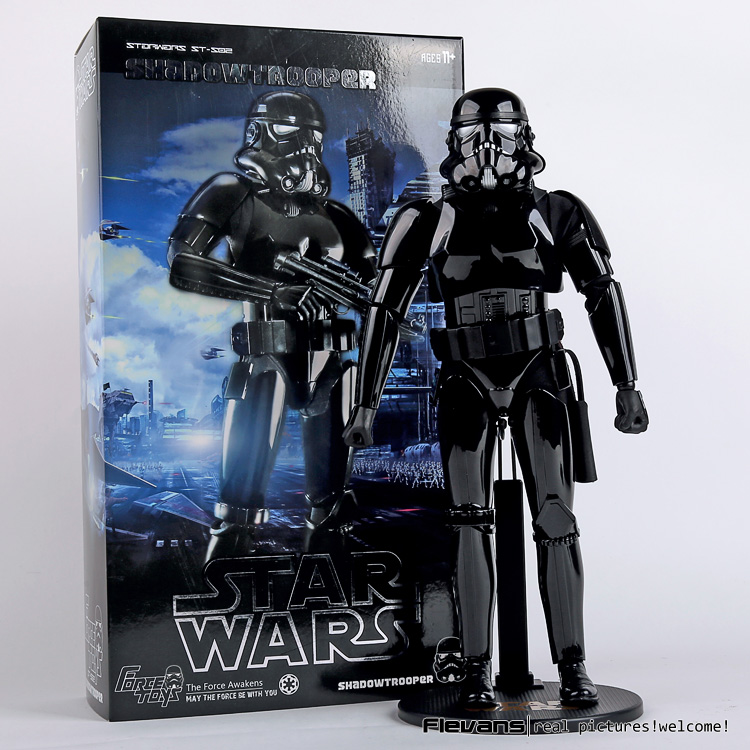 FORCE TOYS Star Wars Shadow trooper PVC Action Figure Collectible Model Toy 12 30cm