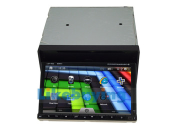 Universal 2 Din 7 inch Car DVD with GPS car Radio stereo navigation,,IPOD Support,3G/ WIFI optional ,Free 8G SD Card with map