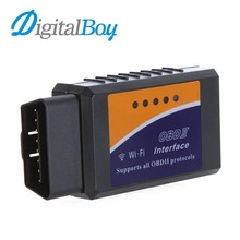 Buy Digitalboy Wireless Wifi Elm327 OBDII CAN BUS Check Engine Car Diagnostic Scanner Tool Adapter PC Android IOS iPhone for $12.75 in AliExpress store