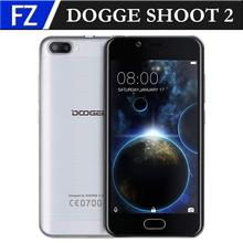 "DOOGEE SHOOT 2 5.0"" HD MTK6580A Quad-core Dual CAM 1GB RAM 8GB ROM Android 6.0 3G Phone 3360mAh Touch ID(China (Mainland))"
