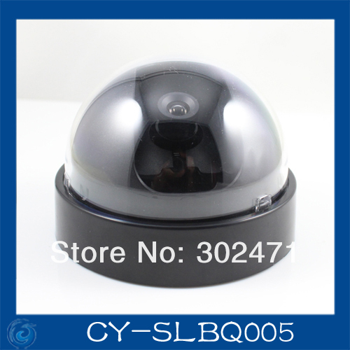 Free Shipping CCD Dome CCTV Camera Round Plastic Housing Cover Case(China (Mainland))