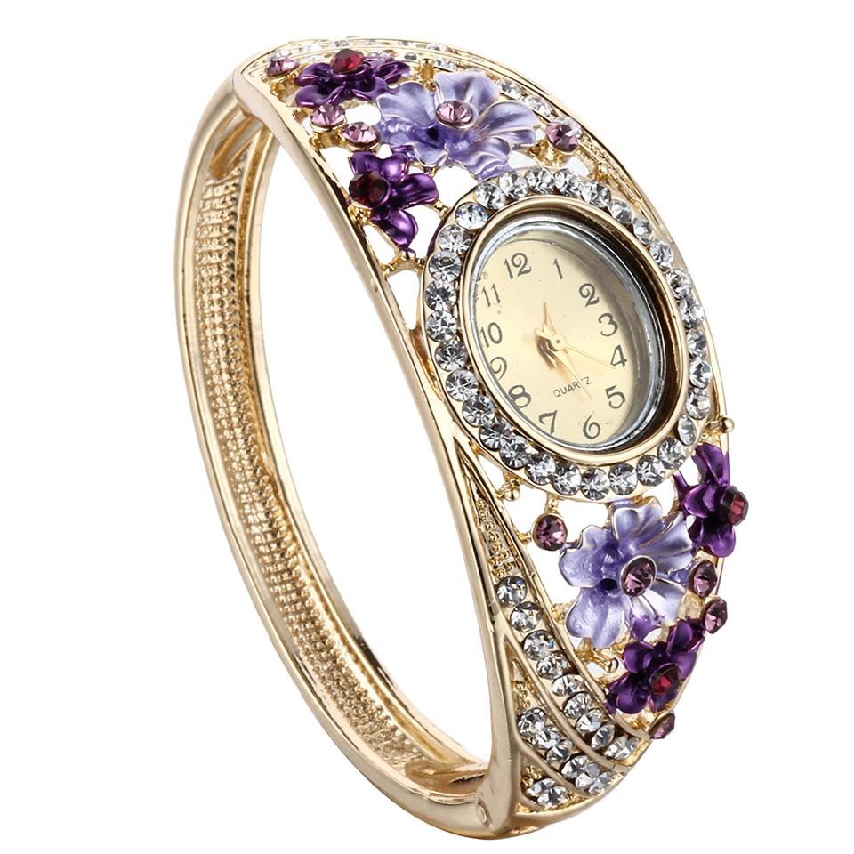 1pcs 2015 trendy summer jewelry gold bracelet watches