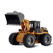 Buy RC Car Electric Excavator Remote Control Toys Engineering Car Toy Alloy Electronic Remote Control RC Forklift Truck Boys Kid for $56.47 in AliExpress store
