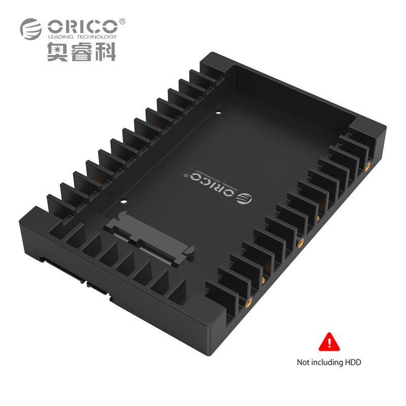 ORICO 1125SS Plastic 2.5 to 3.5 inch HDD Caddy Case Hard Drive Adapter SATA3.0 Support 7/9.5/12.5mm SATA HDD SSD Hot-swapping(China (Mainland))