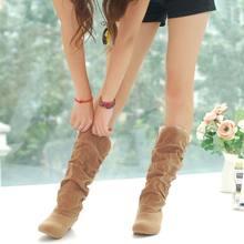 Yeni Sonbahar Kadın Ayak Bileği Motosiklet Botları Kış Ayakkabı Kadın Marka Deri Daireler ayakkabı moda Kar Botları(China)