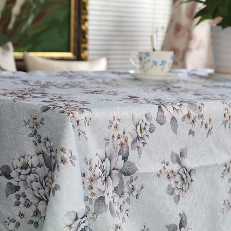 Tablecloths European and American Retro Floral pattern wedding Clubhouse coffee tablecloth restaurant Free shipping(China (Mainland))