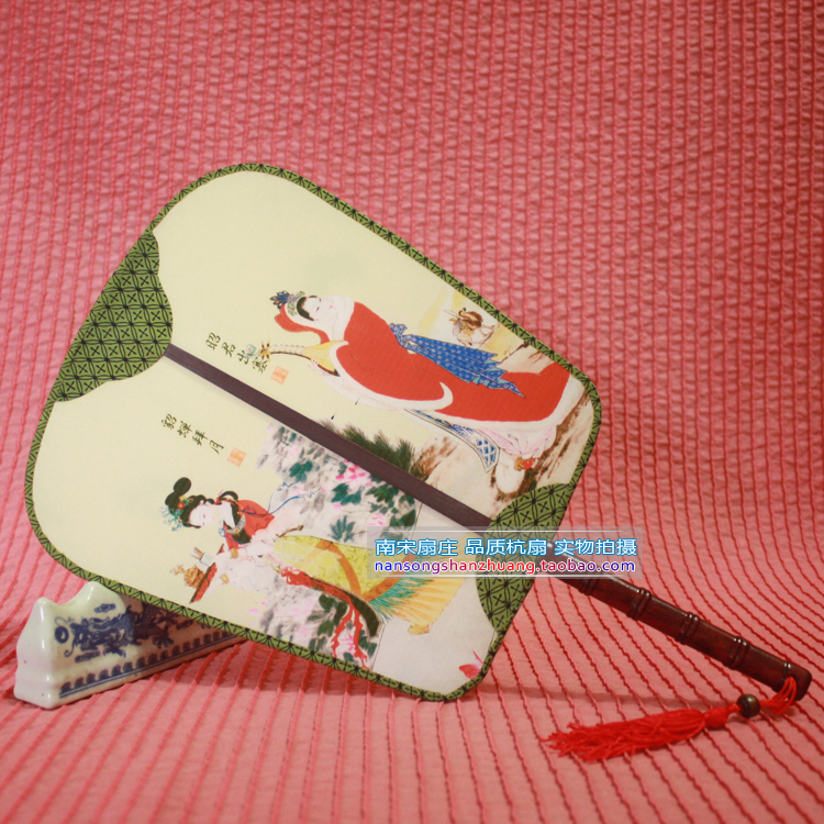Free shipping bamboo hand fans dance fans silk material for Crafts using bamboo