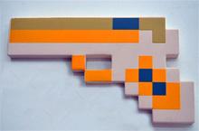New 2015 Minecraft Figure Toys Minecraft Sword Axe Shovel Gun EVA Model Toys Children's Toys Birthday Gifts In Stock(China (Mainland))