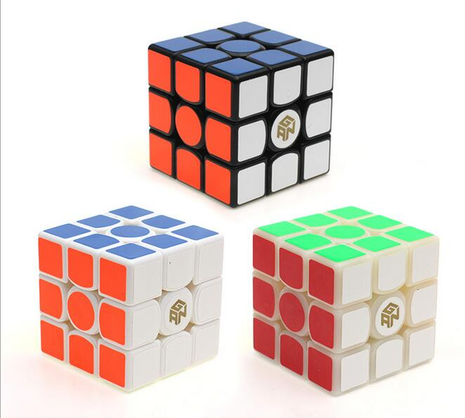 2016 New Arrivals 3 Color Gan356s Fashion Edition 3X3X3 Educational Toys Classic Toy Magic Cube Professional Puzzles(China (Mainland))