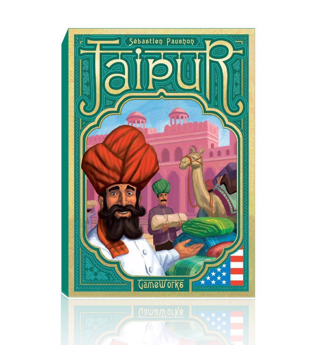 board game Jaipur, high quality, best card game very suitable for the family(China (Mainland))