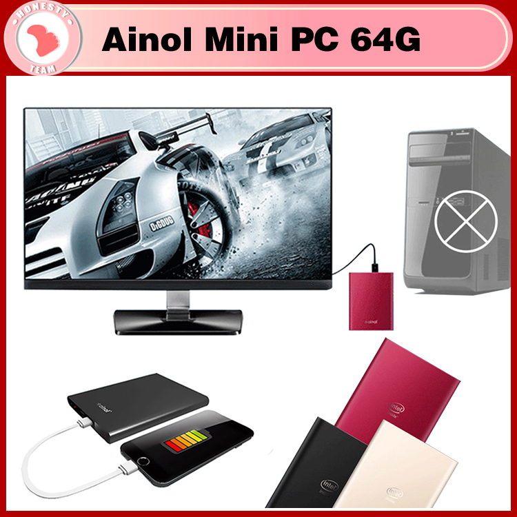 Ainol Mini PC Windows 8.1 2GB RAM 32GB/64G ROM Intel Z3735 Quad Core Business Mini Computer with USB HDMI ultrathin Mini PCs(China (Mainland))