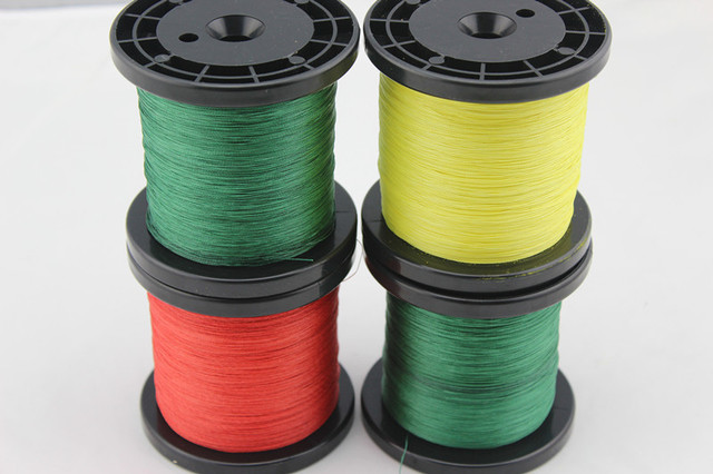 Free Shipping! 1000M/piece 15LB PE Braid Fishing Line 3 Color