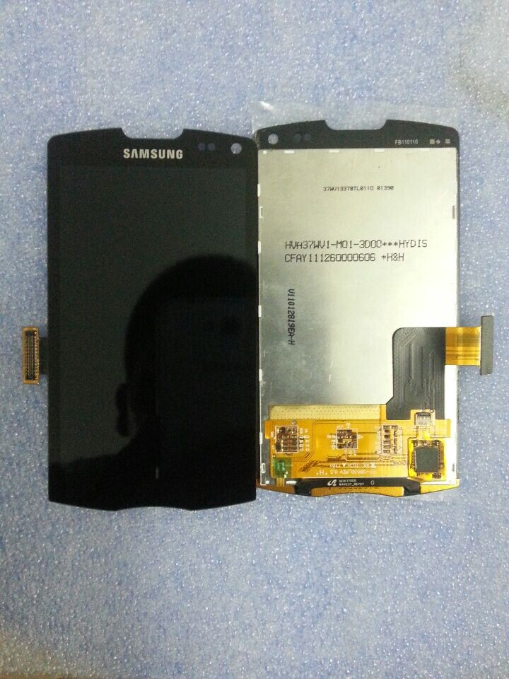 New Replacement LCD Display and Touch Screen Digitizer For Samsung S8530 Wave 2 II free shipping low cost(China (Mainland))