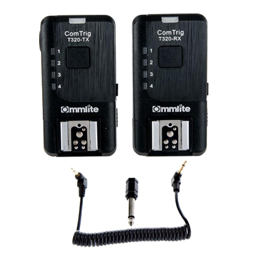 5 Channel Wireless Remote Flash Sync Trigger Set Transmitter Receiver for Nikon SB5000 SB900 SB910 SB800 SB700 SB30 Studio Light