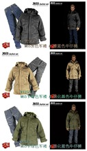 Free Shipping 1/6 Action Figure M65 Protection Jacket Jeans Suit Movies Scale Model DIY Accessories Toys For Children Brinquedos(China (Mainland))