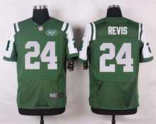 New York Jets #15 Brandon Marshall #12 Joe Namath #7 Geno Smith Elite White and Green Team Color(China (Mainland))