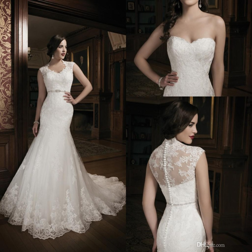 2015 top selling mermaid wedding dress with lace and for Cloth for wedding dresses