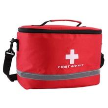 Открытый аптечка Спорт Кемпинг мешок дома неотложной медицинской помощи выживания посылка красный нейлон эффектный крест символ Crossbody сум...(China)