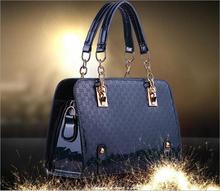 Ventes à bas prix de haute qualité sac à main de luxe nouvelles femmes de grain de crocodile sac à main marque sac à main en cuir + PU livraison gratuite(China (Mainland))