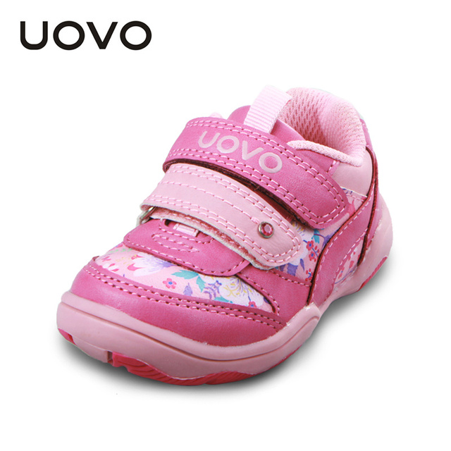 UOVO Дети Девушки Shoes Малышей Shoes Малыш Девушки Shoes Casual Sport Shoes for girls