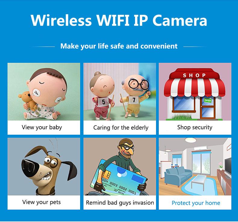 1080P Camera IP WIFI 3