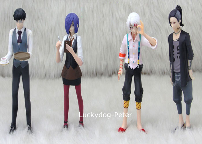 Tokyo Ghoul Uta Action Figure Kaneki Ken Dolls 1/8 scale painted figure Kirishima Touka Juzo Suzuya PVC ACGN Toys Anime - Luckydog-Peter store