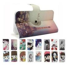 THL W2 Case, 180 Rotation Flip Leather Phone Cases for THL W2(China (Mainland))