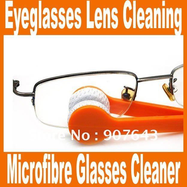 Glasses Cleaner eyeglasses lens cleaning kit 2012-New Essential Microfibre Glasses Cleaner As Seen On TV Good quality(China (Mainland))