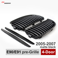 e90 pre facelift black kidney bumper air grille grill also for BMW 2005 2008 3 series