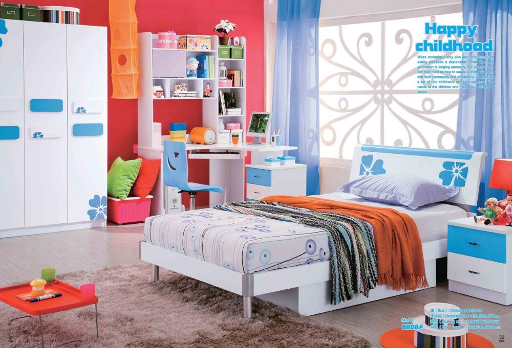 Slaapkamer blauw meisje maison design obas