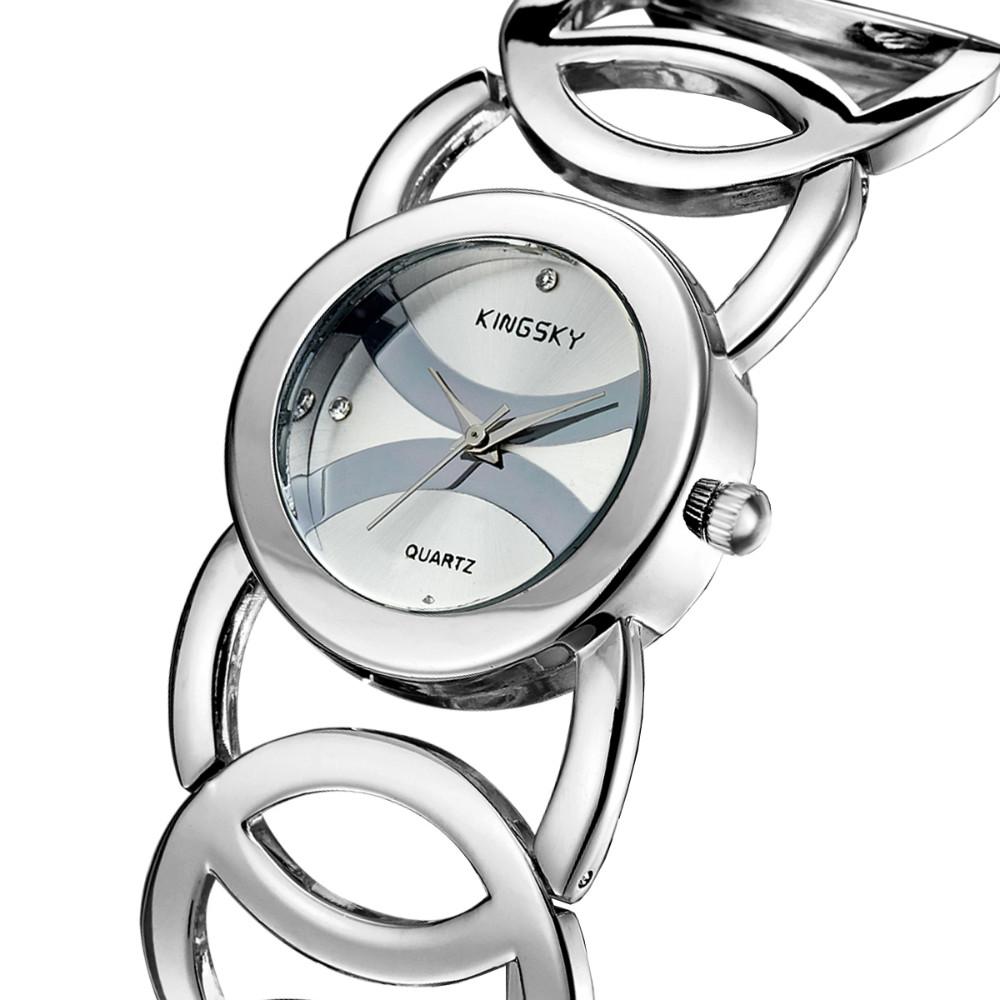Гаджет  3809-2# Women Dress Business Watches Brand Famous KINGSKY Quartz Watch Wristwatches Fashion Reloj Mujer Ladies watch None Часы