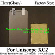 Clear Glossy Screen Protector Guard Cover protective Film For Uniscope XC2 W1231 W1230 / XC2S