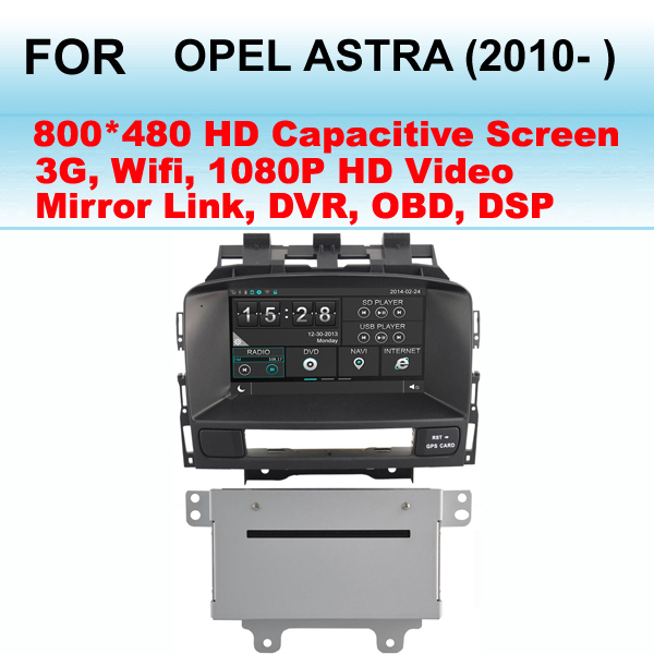For Opel Astra Car Radio (2010- ) Support WIFI and 3G internet , Support GPS Dual Zone (Listen Radio/CD While GPS Image)(China (Mainland))