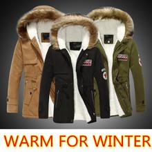 chaqueta hombre 2015 parkas hombre invierno casual abrigos Warm Military anorak Outwear Cazadoras Man Thermal Winter Jacket Men(China (Mainland))
