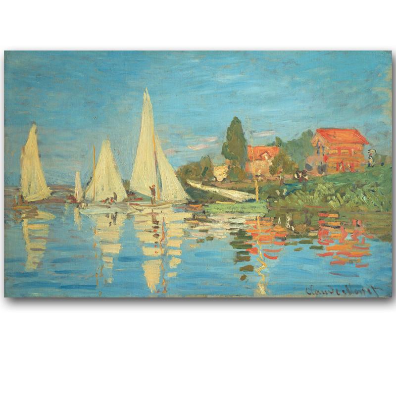 Monet paesaggi marini acquista a poco prezzo monet for Definicion de pintura mural